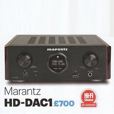 USB ЦАП Marantz HD-DAC1 — рекомендован журналом «Hi-Fi Choice»