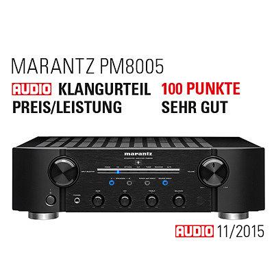 Marantz PM8005 – 100 баллов за качество звучания в журнале Audio