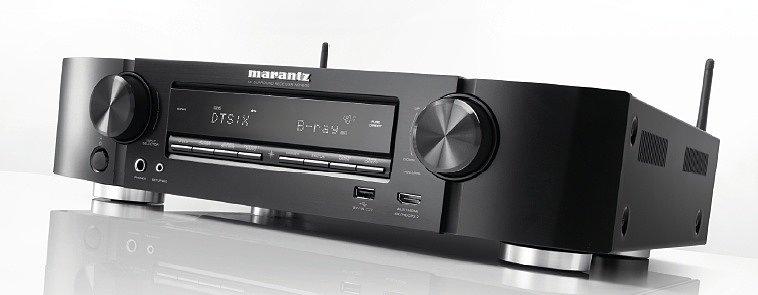 Marantz NR1609 — ультра-тонкий 7.2-канальный AV ресивер с 3D аудио и стримингом онлайн музыки