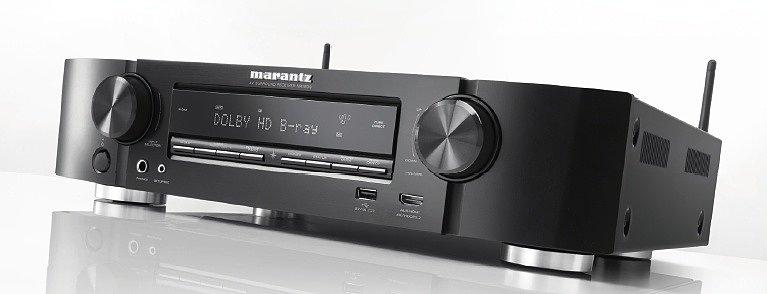 Marantz NR1509 — ультра-тонкий 5.2-канальный AV ресивер со стримингом онлайн музыки