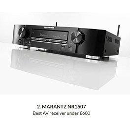 Marantz NR1607 - Лучший AV-ресивер по цене до 600 фунтов