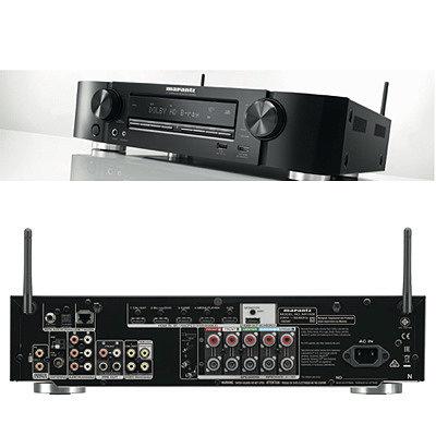 Marantz NR1508 – ультра-тонкий 5.2-канальный сетевой AV-ресивер с HEOS