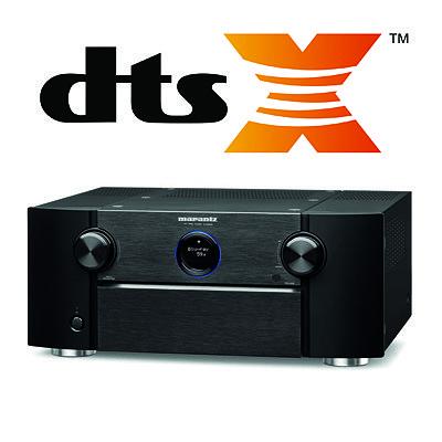 Marantz оснащает AV ресиверы и процессоры класса премиум декодерами DTS:X
